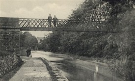 Photo:Metal Bridge beside Bower's Walk c 1895